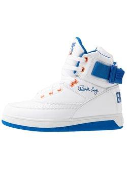 Ewing - 33 HI - Sneaker high - white/princess blue/vibrant orange