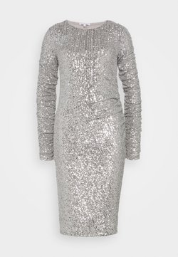 Patrizia Pepe - ABITO DRESS - Cocktail dress / Party dress - silver