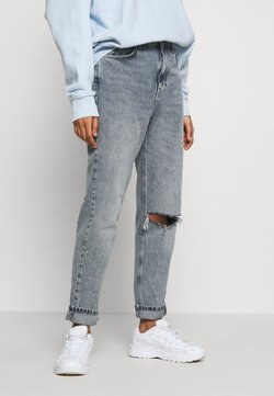 Topshop - CHICAGO RIP MOM  - Relaxed fit jeans - smoke