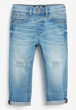Next - DISTRESSED  - Jeans Slim Fit - bleached denim