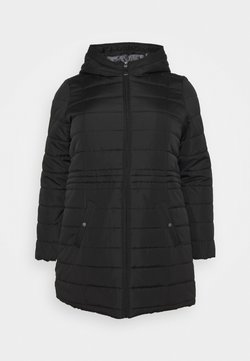 Vero Moda Curve - VMSIMO HOODY JACKET - Abrigo - black
