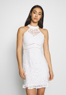 Love Triangle - LAETITIA DRESS - Cocktailklänning - white