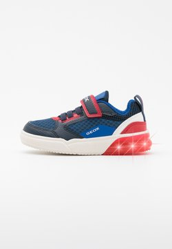 Geox - GRAYJAY BOY - Sneaker low - navy/red