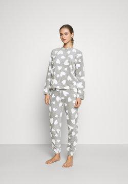 ONLY - ONLCAYA NIGHTWEAR SET - Pyjama - light grey melange