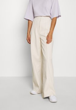 BDG Urban Outfitters - CORSET  - Flared jeans - ecru