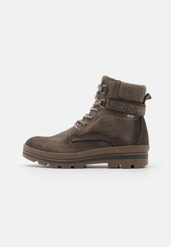 TOM TAILOR - Veterboots - taupe