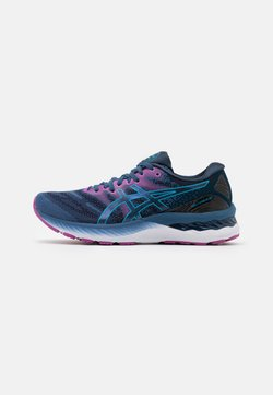 ASICS - GEL-NIMBUS 23 - Zapatillas de running neutras - grand shark/digital aqua