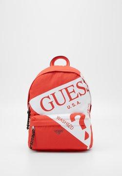 Guess - DEVIN BACKPACK - Reppu - orange