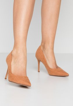 Dorothy Perkins - DELE POINT COURT - Hoge hakken - tan