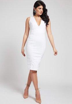 Guess - Vestido de tubo - weiß