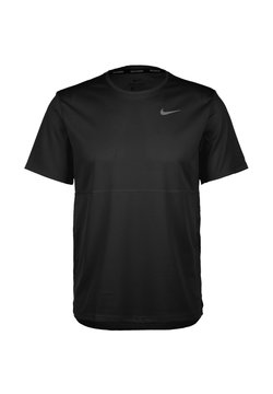 Nike Performance - BREATHE - T-shirt basic - black / reflective silver
