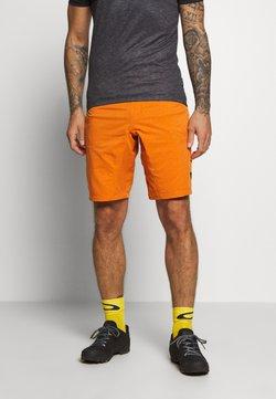 ION - BIKESHORT PAZE - kurze Sporthose - riot orange