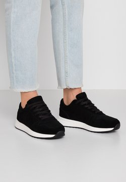 Anna Field - LEATHER - Trainers - black