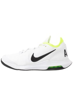 Nike Performance - NIKECOURT AIR MAX WILDCARD - Buty tenisowe uniwersalne - white/black/volt