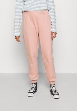 Topshop - SHIRRED WAIST - Jogginghose - pink