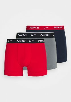 Nike Underwear - DAY STRETCH TRUNK 3 PACK - Shorty - red
