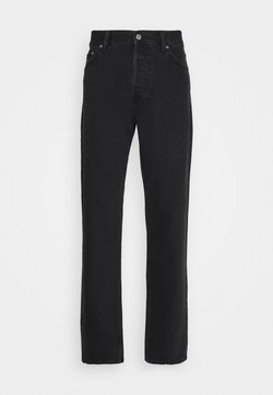 Weekday - BARREL RELAXED TAPERED - Jeans Relaxed Fit - tuned black