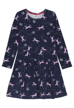 happy girls - PFERDE - Jerseykleid - navy