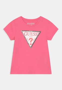 Guess - TODDLER  - T-shirt print - pop pink
