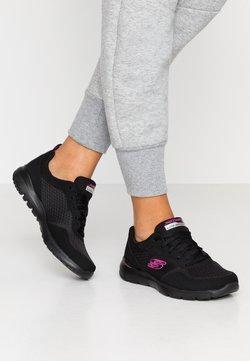 Skechers Sport - FLEX APPEAL 3.0 - Sneakers laag - black/hot pink