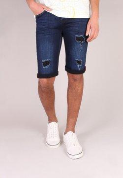Gabbiano - Shorts vaqueros - d blue destroyed