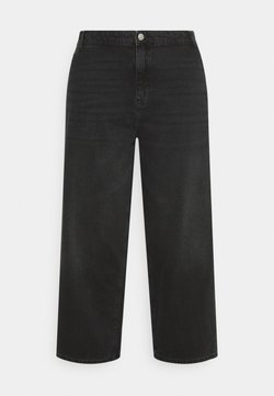 Noisy May Curve - NMBROOKE  - Jeans Relaxed Fit - black