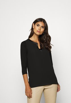 comma - 3/4 ARM - Bluse - black