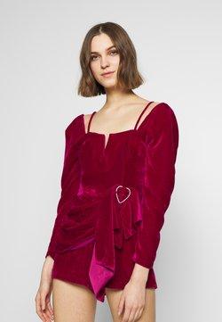 Alice McCall - MOON RISING MINI WRAP DRESS - Combinaison - pink