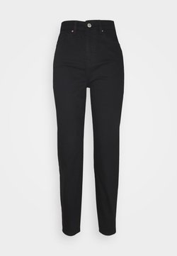 Miss Selfridge - MOM - Relaxed fit jeans - black