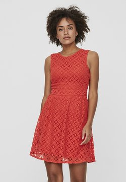 Vero Moda - VMSIMONE - Cocktail dress / Party dress - red
