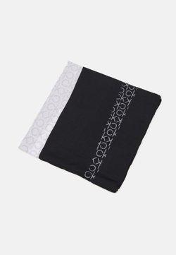 Calvin Klein - SCARF - Sciarpa - black/white mix