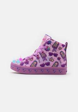 Skechers - TWI LITES - Sneaker high - pink/multicolor
