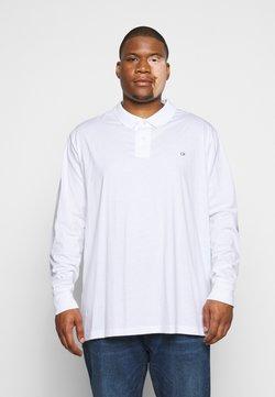 Calvin Klein - LIQUID TOUCH LONG SLEEVE - Polo - white