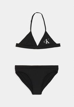 Calvin Klein Swimwear - TRIANGLE SET - Bikini - black