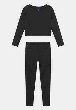 South Beach - LONGSLEEVE ACTIVE SET - Dres - black