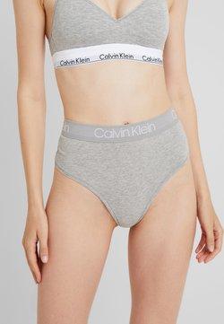 Calvin Klein Underwear - BODY HIGH WAIST THONG - String - grey