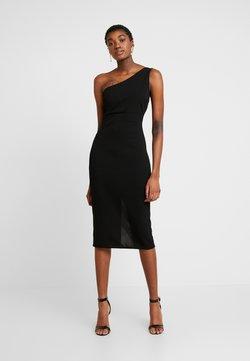 WAL G. - ONE SHOULDER MIDI DRESS - Vestito elegante - black