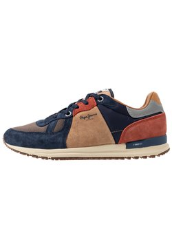 Pepe Jeans - TINKER PRO 19 WOODLAND - Sneaker low - navy