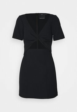 CMEO COLLECTIVE - CIRCULATE MINI DRESS - Cocktailkleid/festliches Kleid - black