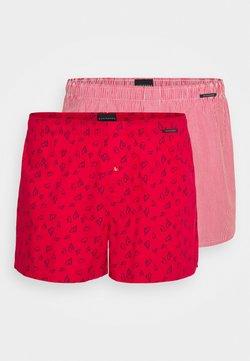 Schiesser - 2PACK - Boxershorts - red
