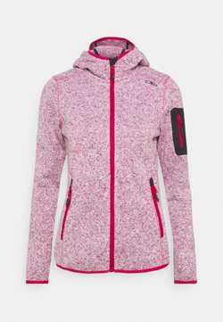 CMP - WOMAN FIX HOOD JACKET - Veste polaire - granita