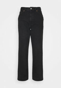 Monki - TAIKI - Jeans Straight Leg - black dark