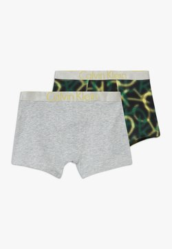 Calvin Klein Underwear - TRUNKS 2 PACK - Shorty - green