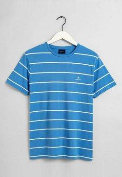 GANT - BRETON  - T-Shirt print - pacific blue