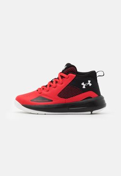 Under Armour - LOCKDOWN 5 UNISEX - Zapatillas de baloncesto - versa red