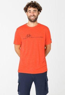 super.natural - BIKE LINE - T-Shirt print - orange