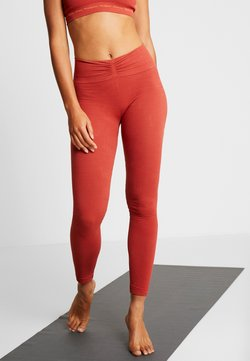 Yogasearcher - SAVASANA - Tights - sienne