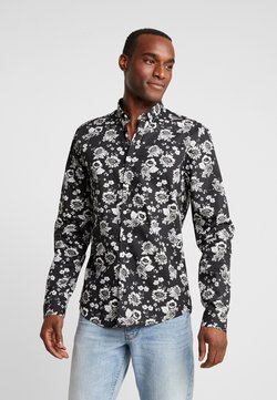 Lindbergh - FLORAL PRINT - Camisa - black