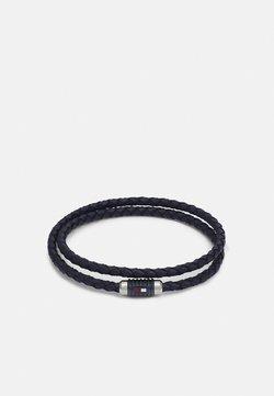Tommy Hilfiger - DOUBLE WRAP BRACELET  - Bracelet - blue