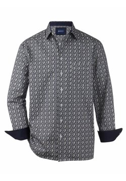 Babista - Hemd - blau,grau